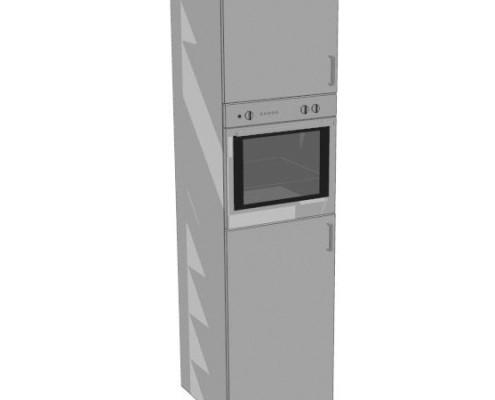 220*60-as sütős álló konyhaszekrény elem
