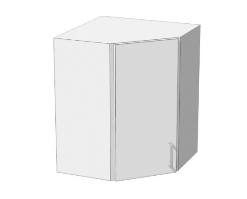 60x60cm-es sarok felső konyhaszekrény